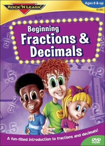 Rock 'N Learn: Fractions & Decimals (DVD)