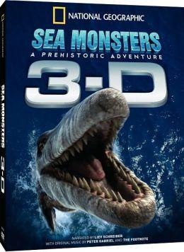 Sea Monsters 3D (DVD)