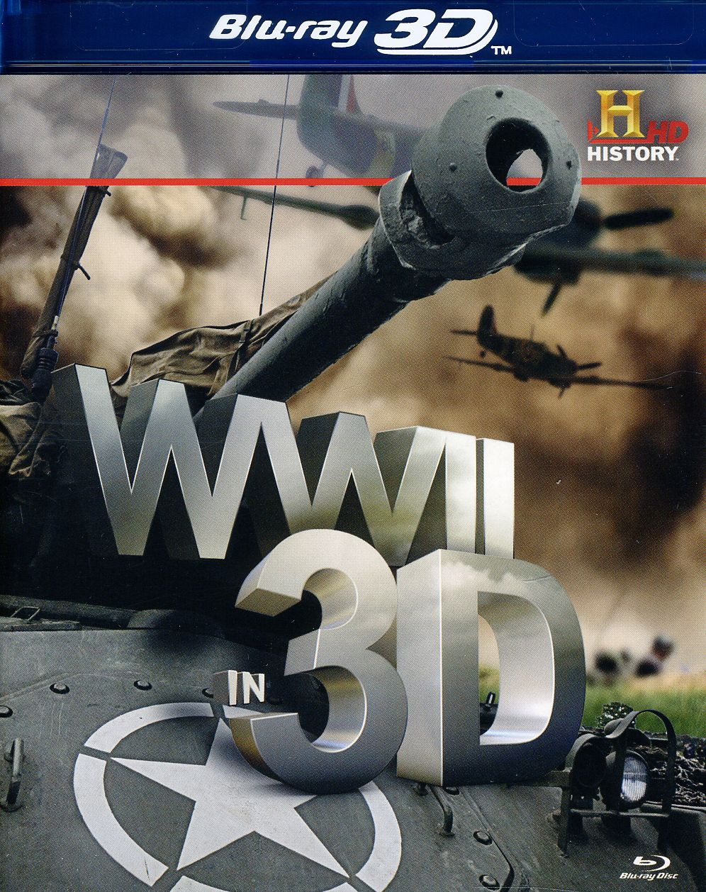WWII in 3D (Blu-ray Disc)