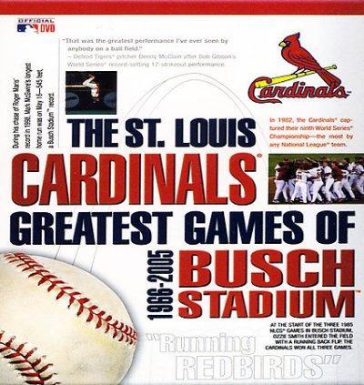 The St. Louis Cardinals Greatest Games of Busch Stadium 1966-2005 (DVD)