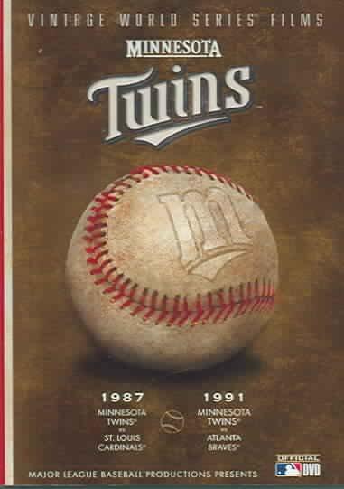 Minnesota Twins Vintage World Series Films (DVD)