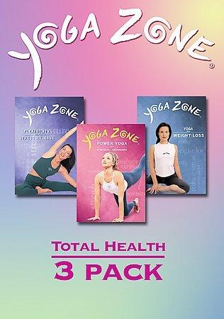 Yoga Zone Total Health 3PK (DVD)