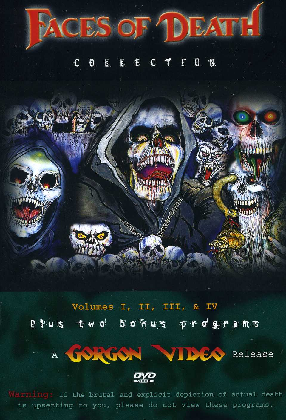 Faces of Death Collection 1-4 (DVD)