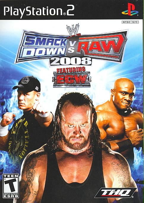 PS2 - WWE Smackdown vs. Raw 2008