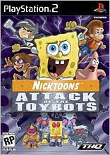 PS2 - Nicktoons: Attack of the Toybots