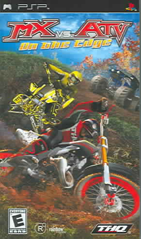 PSP - MX vs. ATV Unleashed: On The Edge (Pre-Played)