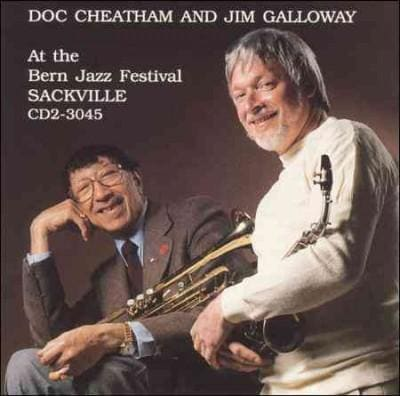 Doc Cheatham - At the Bern Jazz Festival