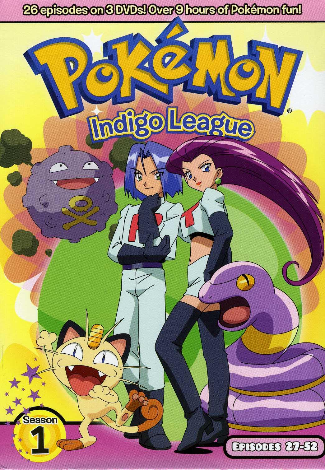 Pokemon Season 1: Indigo League Part 2 Box Set (DVD)