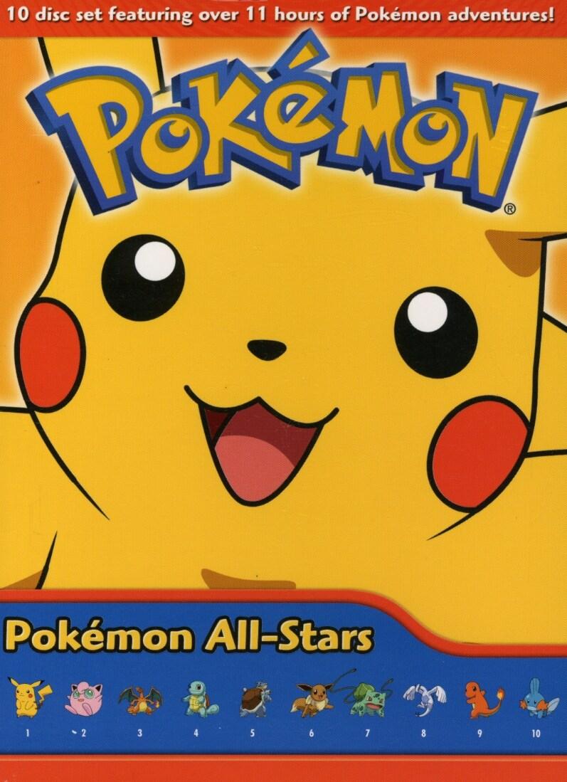 Pokemon All Stars Box Set 1 (DVD)