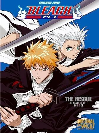 Bleach Box Set 3: The Rescue (Uncut) (DVD)