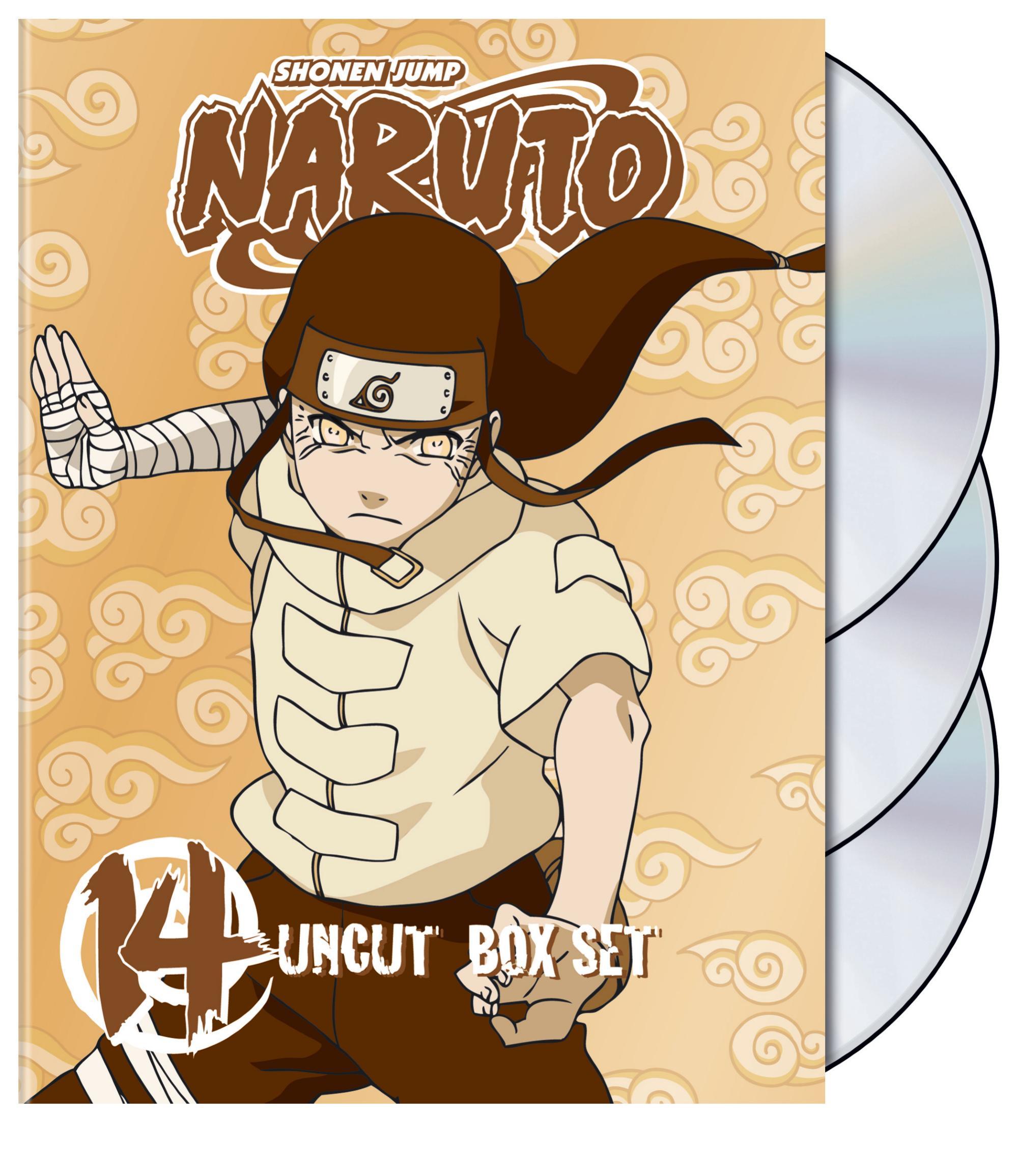 Naruto Uncut Box Set Vol 14 (DVD)