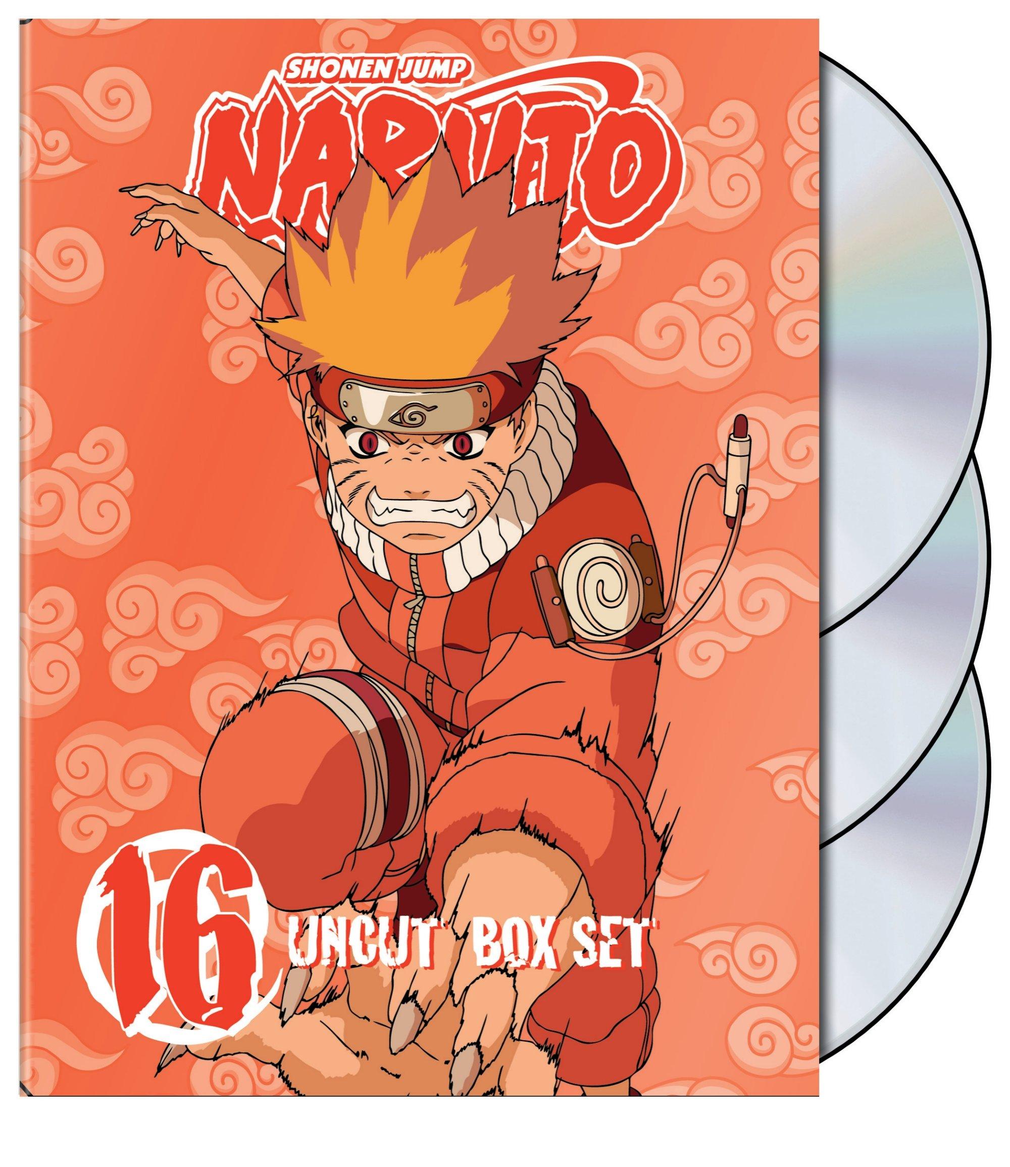 Naruto Uncut Box Set Vol 16 (DVD)