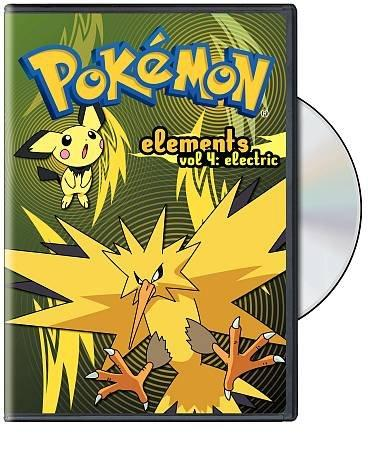 Pokemon Elements Vol 4: Electric (DVD)