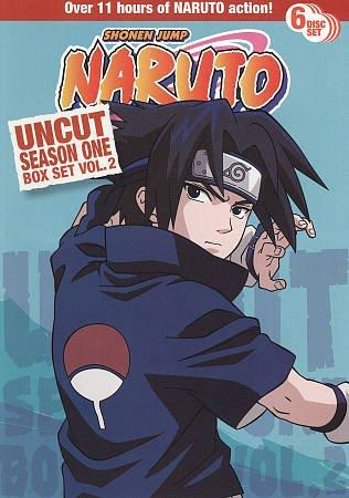 Naruto Uncut Season 1 Box Set Vol 2 (DVD)