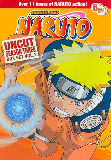 Naruto Uncut Season 3 Box Set Vol 2 (DVD)