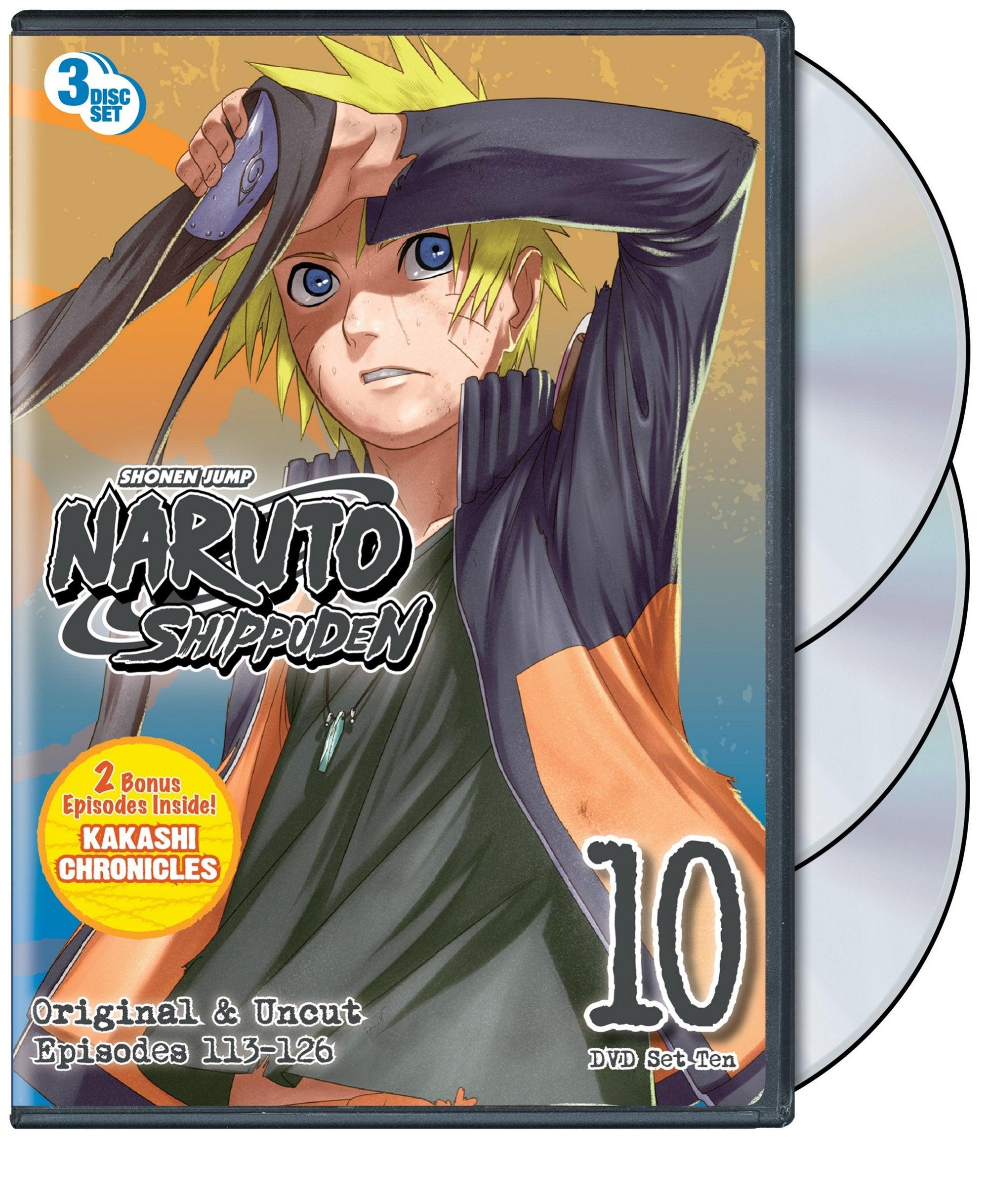 Naruto Shippuden Box Set 10 (DVD)