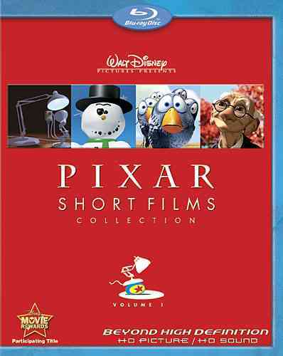 Pixar Short Film Collection Vol. One (Blu-ray Disc)