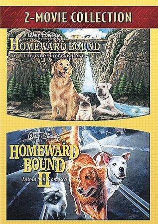 Homeward Bound: The Incredible Journey/Homeward Bound II: Lost In San Francisco (DVD)