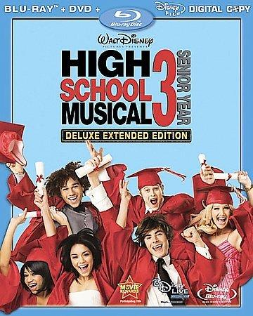 High School Musical 3: Senior Year (Deluxe Extended Edition) (Blu-ray Disc)
