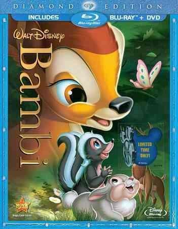 Bambi: Diamond Edition (Blu-ray/DVD) - Thumbnail 0