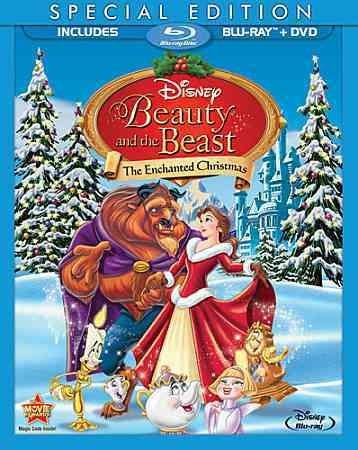 Beauty And The Beast: The Enchanted Christmas (Special Edition) (Blu-ray/DVD)