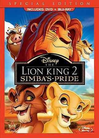 The Lion King 2: Simba's Pride (Special Edition) (Blu-ray/DVD)