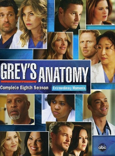 Grey's Anatomy: Season 8 (DVD) - Thumbnail 0