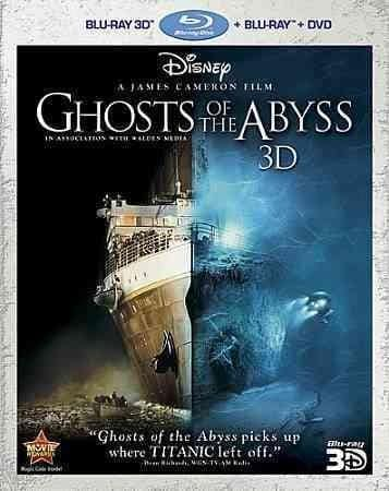 Ghosts Of The Abyss 3D (Blu-ray/DVD)