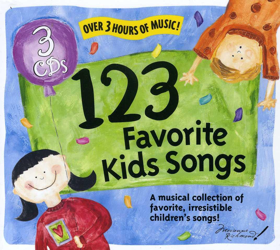 Artist Not Provided - 123 Favorite Kids Songs