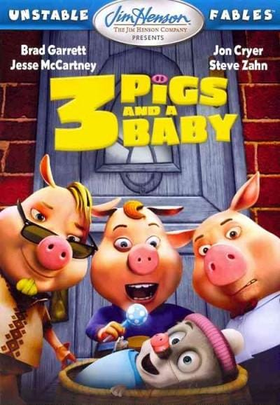 Unstable Fables: 3 Pigs & A Baby (DVD)