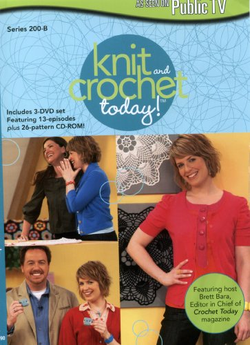 Knit and Crochet Today!: Set 2 (DVD)