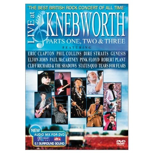 Live at Knebworth Parts 1 2 & 3 (DVD)
