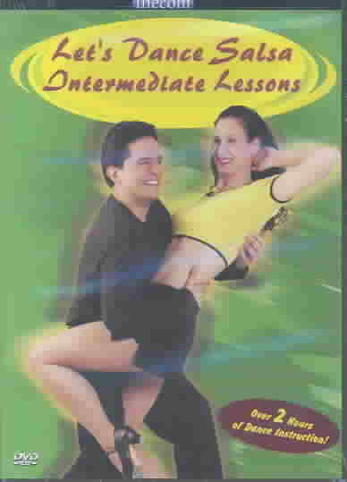 Let's Dance Salsa -  Intermediate Lessons (DVD)