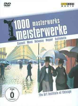 1000 Masterworks: The Art Institute of Chicago (DVD)