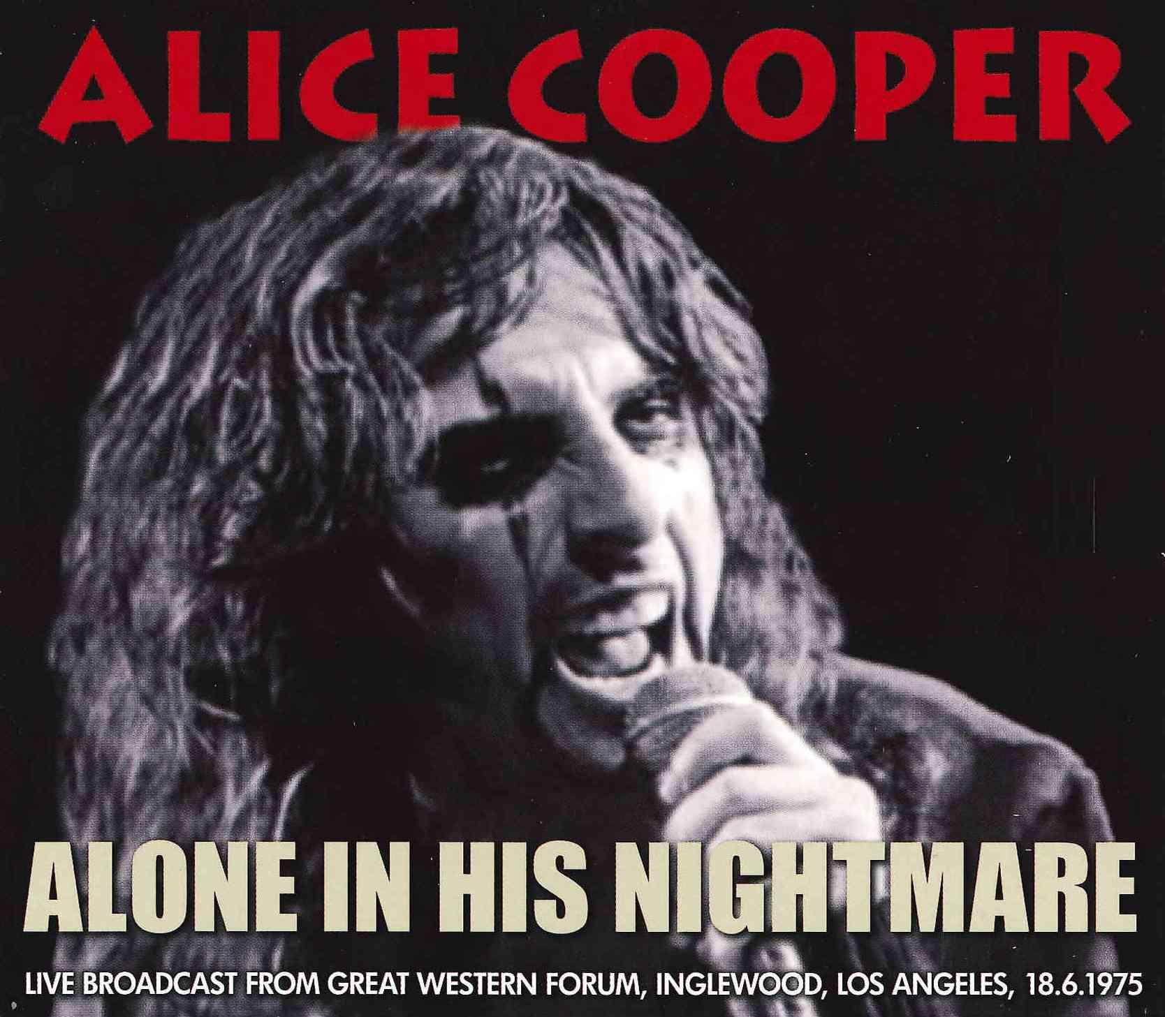 Alice Cooper - Alone in His Nightmare
