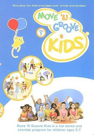 Move 'N Groove Kids: Vol. 1 (DVD)