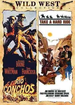 Rio Conchos/Take A Hard Ride (DVD)