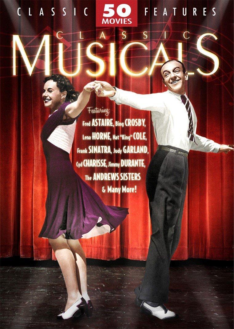 Classic Musicals 50 Movie MegaPack (DVD)