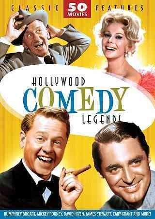 Hollywood Comedy Legends: 50 Movie Set (DVD)