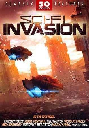 Sci-Fi Invasion: 50 Movie Set (DVD)