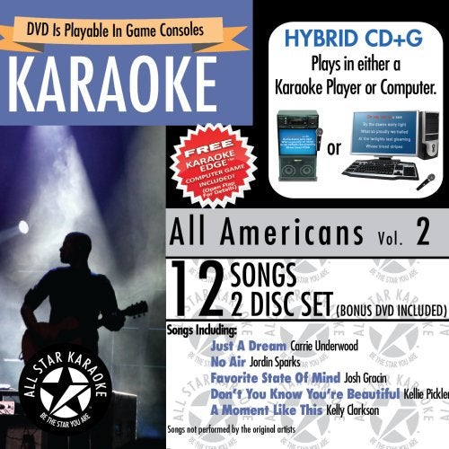 KARAOKE: ALL AMERICANS/VARIOUS (W/DVD) - KARAOKE: ALL AMERICANS/VARIOUS (W/DVD)