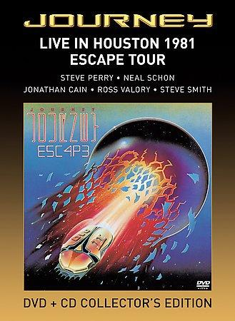 Live in Houston 1981: The Escape Tour (DVD)
