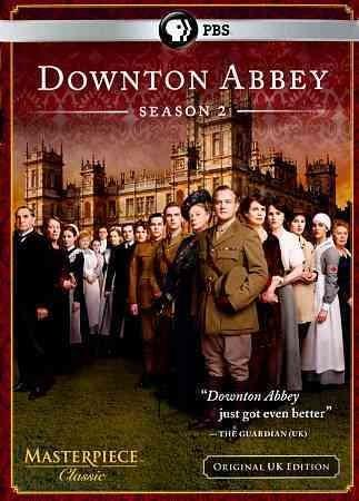 Downton Abbey Season 2 (Original U.K. Unedited Edition) (DVD)