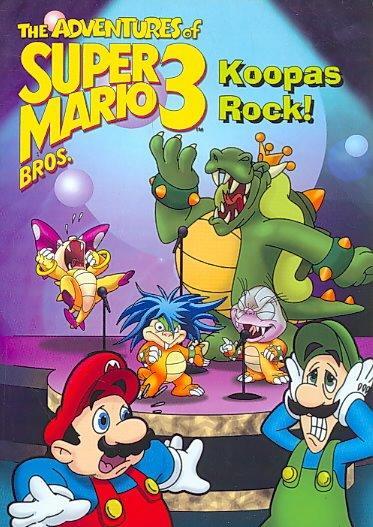 Adventures Of Super Mario III: Koopas Rock! (DVD)