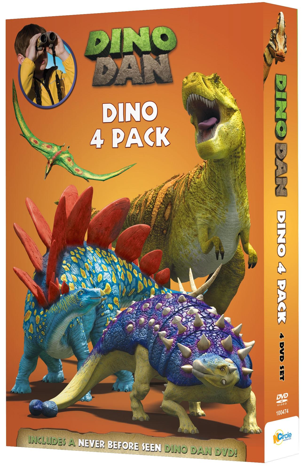 Dino Dan: Dino 4 Pack (DVD)