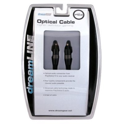 PS3 Optical Cable (DreamGear)