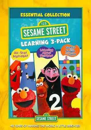 Sesame Street: Learning Triple Feature Pack (DVD)