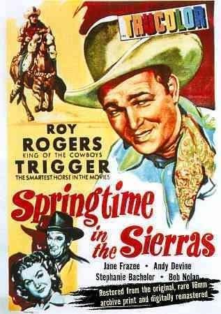 Roy Rogers: Springtime in the Sierras (DVD)