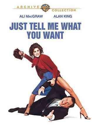 Just Tell Me What You Want (DVD)