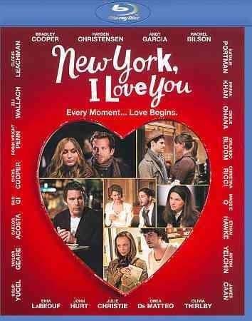 New York, I Love You (Blu-ray Disc)